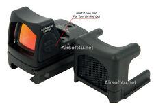 Tactical Airsoft RMR-Style-Red Dot + Killflash with Side ON/OFF switch