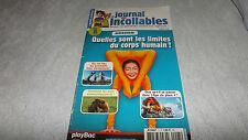 Le Journal Des Incollables N°5 Quelles Sont Les Limites Du Corps Humains ?