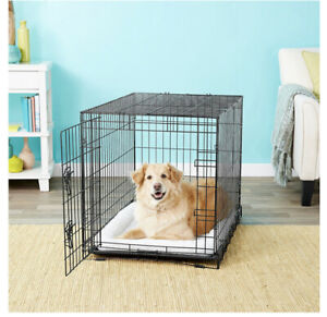Lucky Dog Folding 2 Door Kennel 36 x 24 x 27in.