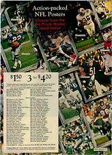 1972 ADVERT 7 PG NFL Team Posters Hoodies Jacets Sweatshirts Ponchos Jackets