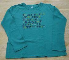 PETIT BATEAU Langarm Shirt Gr. 12 ans /Jahre 150 cm - grün
