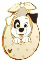 Disney 101 Dalmatians Puppies Hkdl Patch Swaddled in Baby Blanket Game pin