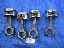 99-01 Honda CRV B20Z2 pistons and rods set B20Z 5062804 P3F PR4 OEM PHK 13778