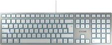 Cherry KC 6000 Tastatur Slim for Mac, USB, DE