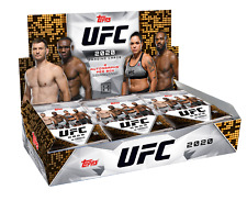 Topps UFC 2020 Hobby Box 2 Autographs Per Box