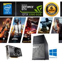 Gaming PC Desktop Dell Intel Core i7 3.8GHz@GTX 1060 6GB@256GB SSD@16GB RAM@WiFi