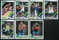 2019-20 Panini Donruss Minnesota Timberwolves Base Team Set 7 Basketball Cards