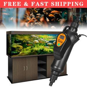 300W/500W External Filter Heater Fish Tank Inline Aquarium Water Thermostat 220V