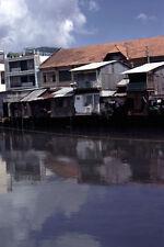 Vietnam 1971- Shanty Homes, Buildings - Ben Nghe Channel - Saigon