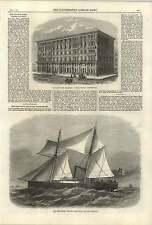 1868 Twin Screw Steamer John Penn New Zealand Grosveno Mansion Westminster