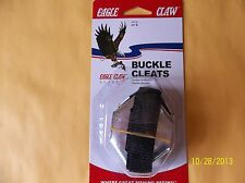 FAST ON BUCKLE ICE CLEATS CRAMPONS SPIKES SHOES 1 PAIR