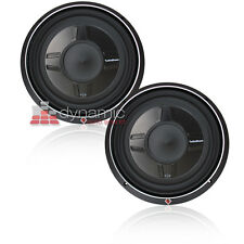 "(2) Rockford Fosgate P3SD2-12 DVC 2-Ohm 12"" Shallow Subwoofers 1,600W Subs New"