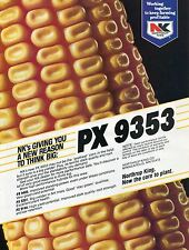 1983 Print Ad of Northrup King NK PX 9353 Hybrid Corn Seed