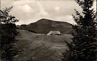 BADENWEILER Schwarzwald um 1960/65 Kälbelscheuer Berg Hütte Blick auf Belchen