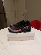 4d60d9ed79ce Nike Air VaporMax Flyknit 2 Black Racer Pink Running Training 11   942842-017