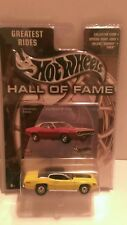 Excellent hot wheels hall of fame yellow Plymouth gtx diecast 1/64