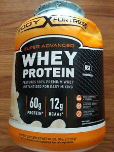 Body Fortress Super Advanced Whey Protein Powder, Vanilla Flavored....., 5 Lb