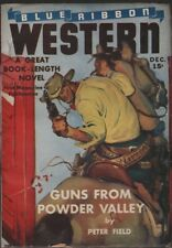 Blue Ribbon Western 1941 December.  Pulp