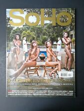 Revista Soho Men's Colombia Magazine March 2012 #143 - Elogio De La Mujer Negra