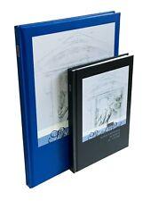 A4 A5 Sketch Book Pad White Cartridge Paper Hardback Case Bound High Quality