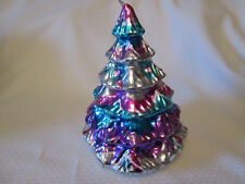 "Christmas Tree Shape Candle  Holiday Home Decoration 6.5""  Tall"