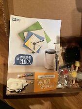 KiwiCo Doodle Crate Wooden Clock Kids Educational Craft Kit