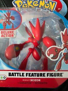 "Pokemon 4.5"" Battle Feature Figure Pack SCIZOR"