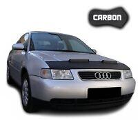 Haubenbra Audi A3 8L CARBON Optik Steinschlagschutz Car Bra Tuning Automaske