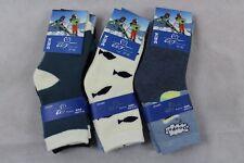 6 Paar Jungen Thermo Socken Strümpfe bunt Muster Gr. 27-30 27 28 29 30 * 85% BW