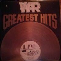 WAR - Greatest Hits (1976) Vinyl LP UA-LA848-G (USA)