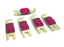 5 PACK MINI ANL Fuses 50 AMP Red