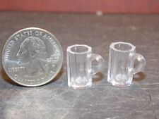 Dollhouse Miniature Beer Mugs Set of 2  1:12 inch scale F63 Dollys Gallery