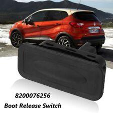 Black Tailgate Release Switch For Renault Clio Megane Captur Kangoo 8200076256