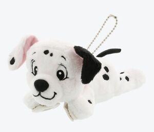TDR Tokyo Disney Resort 2021 101 Dalmatians Plush Badge Shoulder Clip Doll