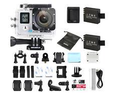 Wimius 4K 16MP HD Dual Screen WiFi Waterproof Sport Action Camera DV as go pro