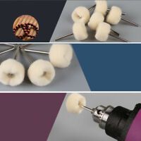 Wool Polishing Brush Grinding Buffing Wheel for Drill Rotary Tool 20pcs