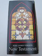 Bible New Testamnet King James set of 12 Cassettes By Alexander Scourby