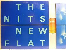 LP,  The Nits, New Flat, Original CBS 1980, Originalinnersleeve, Topzustand, NM