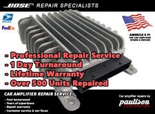 GMC ACADIA TRAVERSE CHEVY 2007-2013 BOSE AMPLIFIER REPAIR SERVICE LIFET WARRANTY