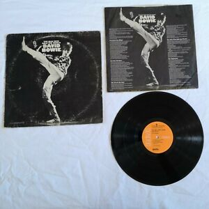 David Bowie -The Man Who Sold The World Vinyl LP 1972 Reissue Pls Rd Description