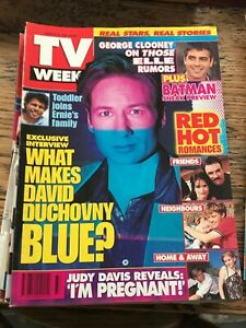 TV WEEK MAGAZINE * March 15 1997 * David Duchovny/X Files, Jesse Spencer.