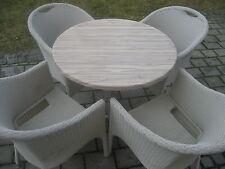 Gartenset, Gartenmöbel, Set Sitzgarnitur Stapelstühle muss man sehen!!!