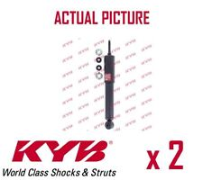 2 x FRONT AXLE SHOCK ABSORBERS PAIR STRUTS SHOCKERS KYB OE QUALITY 343416