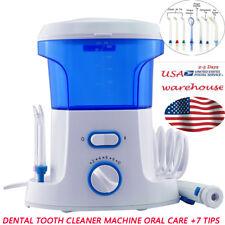 15s 600ml Water Jet Pick Tooth Cleaner Dental Teeth Flosser Oral Irrigator+7 tip