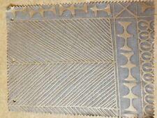 Fortuny fabric - Ashanti, SLATE blue and Silvery Gold
