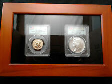 2015 Coin and Chronicles JFK Dollar PCGS Reverse PR70/MS70 Consecutive #s! RARE!