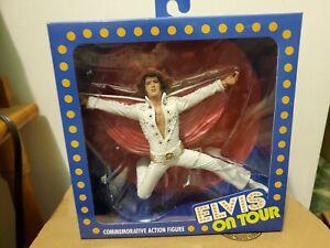 "NECA Elvis Presley On Tour Live 1972 Commemorative 7"" Action Figure NIB"