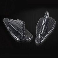 Universal EVO-Style ABS Roof Shark Fins Spoiler Wing Kit Vortex Generator (x10)