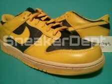 DS 2010 NIKE DUNK LOW VNTG 446242-700 CO.JP NSW QS Yellow/Navy SZ12