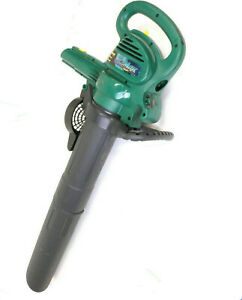 Weed Eater E-Max EBV215 Electric Blower Vacuum and leaf shredder 12 amp 215 mph